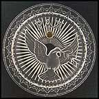Bird Of Peace Collector Plate