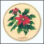 Poinsettia Collector Plate