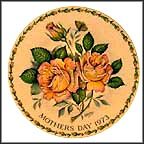 Peace Rose Collector Plate