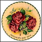 Americana Rose Collector Plate