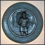 Village Smithy Collector Plate by Roger Brown