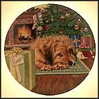 Merry Christmas Benji Collector Plate by Murray Karn