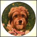 Benji The Movie Star Collector Plate by Murray Karn
