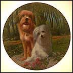 Benji And Tiffany Collector Plate by Murray Karn