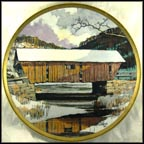Winter Bridge Collector Plate by Eric Sloane MAIN