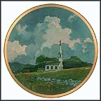 Country Church Collector Plate by Eric Sloane