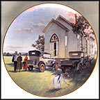 Sunday Morning Collector Plate by George Hallmark MAIN