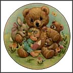 Storybook Pals Collector Plate by Ruth J. Morehead MAIN