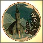 Silent Night Collector Plate