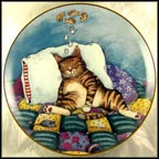 Cat Nap Collector Plate by Gary Patterson MAIN