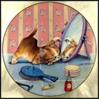 The Intruder Collector Plate by Gary Patterson