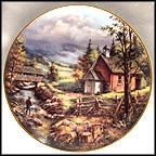 Summertime Collector Plate by Rudi Reichardt MAIN