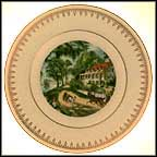 Home On The Mississippi Collector Plate by Currier And Ives