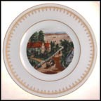 The Western Farmer's Home Collector Plate by Currier And Ives MAIN