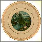 Yosemite Valley Collector Plate by Currier And Ives