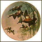 Misty Morning Collector Plate by David Maass