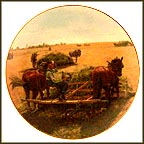 Bountiful Harvest Collector Plate by Emmett Kaye MAIN