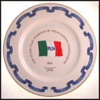 The Alamo Flag - 1836 Collector Plate