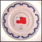 The Bunker Hill Flag - 1775 Collector Plate
