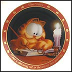 The Charming Cat Collector Plate by Jim Davis