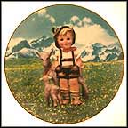 Little Goat Herder Collector Plate by M I Hummel