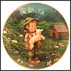 Lost Sheep Collector Plate by M I Hummel