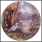 Tranquil Beauty - Everglades National Park Collector Plate by Rudi Reichardt
