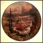 Where Eagles Soar - Grand Canyon Collector Plate by Rudi Reichardt