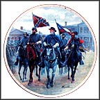 General Lee's Review Collector Plate by Mort Künstler MAIN