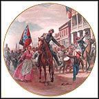 Stonewall Enters Winchester Collector Plate by Mort Künstler