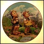 Little Explorers Collector Plate by M I Hummel