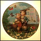 Surprise Collector Plate by M I Hummel