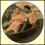 Laurie's Proposal Collector Plate by Elaine Gignilliat