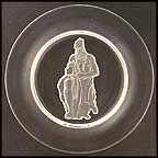 Moses Collector Plate by Michelangelo