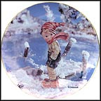 January - Year's First Snow Collector Plate by M I Hummel MAIN