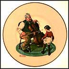 Grandpa's Girl Collector Plate by Norman Rockwell