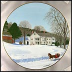 Chittendon's Place Collector Plate by Charlotte Sternberg
