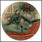 Chelsea And Charlie Collector Plate by Robert Guzman-Forbes MAIN