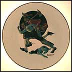 The Alarm Collector Plate by Norman Rockwell