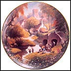 The Picnic Collector Plate by Robert Hersey