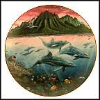 Hawaiian Muses Collector Plate by Robert Lyn Nelson MAIN