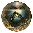 Moonlit Moment Collector Plate by Robert Lyn Nelson MAIN