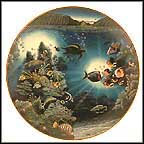 Serendipity Of Waipio Collector Plate by Robert Lyn Nelson MAIN