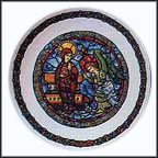The Annunciation Collector Plate by Andre Restieau