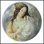 Marianne And Therese Collector Plate by Guy Cambier MAIN