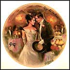 Gigi In Love Collector Plate by Jean-Claude Guidou