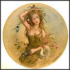 The Girl Of Summer Collector Plate by Guy Cambier