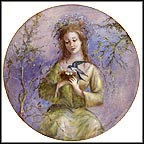 The Girl Of Spring Collector Plate by Guy Cambier MAIN
