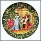 The Divorce Collector Plate by Claude Boulme
