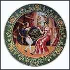 The Meeting Collector Plate by Claude Boulme